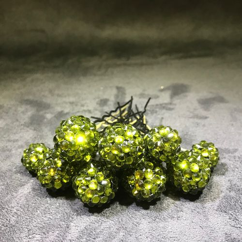 *High Quality* Strass, olive, HotFix